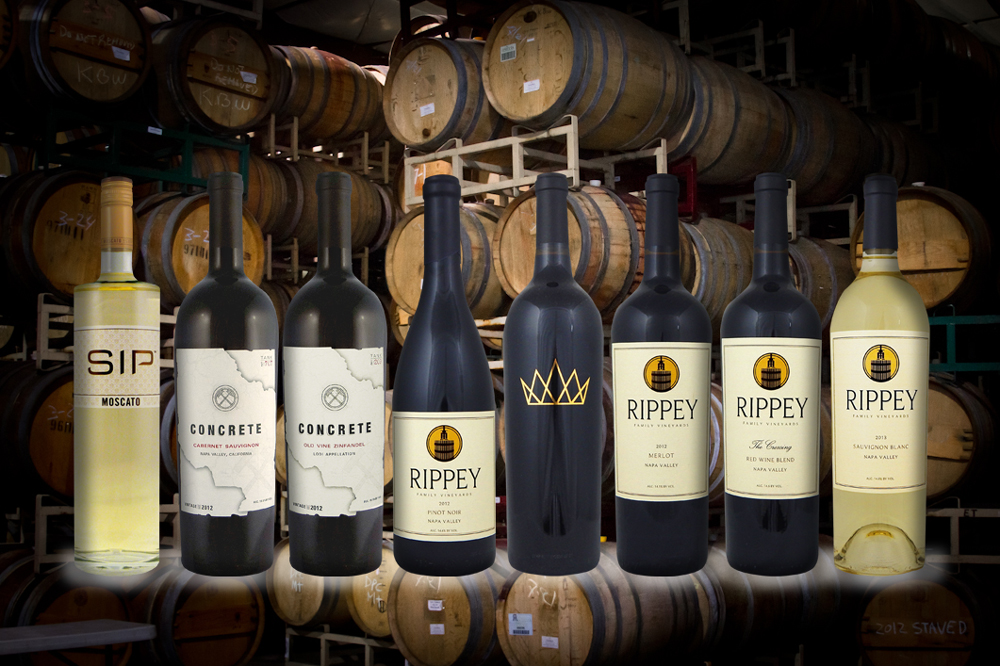 The Rippey Family Selection of Wines