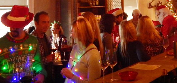 Last Year's revelers at Lodi Vintners Harvest Party!