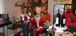 Santa Joined us at Last Years Harvest Party!